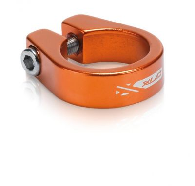 Collier de tige de selle XLC PC-B05 Alu 31,6 mm Orange