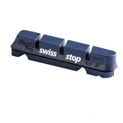 Patins SwissStop Race Pro BXP Aluminium Campagnolo Bleu (Jeu de 2)