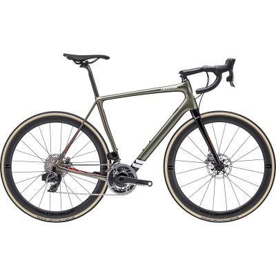 Vélo Route Cannondale Synapse Hi-Mod Sram Red eTap AXS Vert Mantis 2020