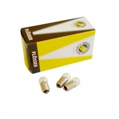 Ampoule Flosser 6V 0.6W EP10 arrière vélo (boîte de 10)