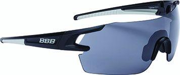 Lunettes BBB FullView Noir mat + Verre PC Smoke Flash Mirror - BSG-53