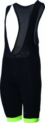 Cuissard à bretelles BBB Bib-Shorts Noir/Jaune - BBW-81