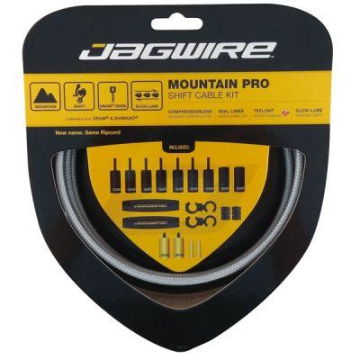 Kit complet câbles et gaines dérailleur Jagwire Mountain Pro - Argent MCK221