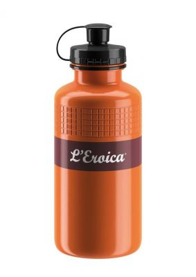 Bidon Elite L'Eroica Vintage 500 ml Marron