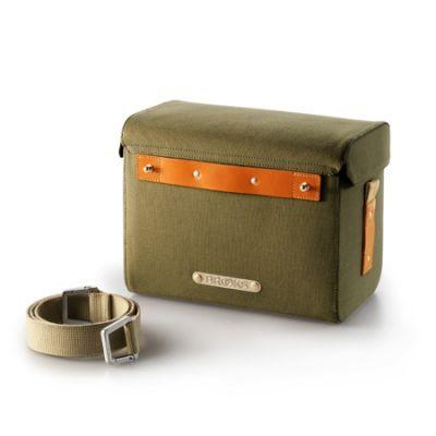 Sacoche de guidon Brooks Isle of Skye Handlebar Bag 9 L Vert/Miel
