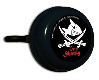 Sonnette Capt'n Sharky pirate Noir