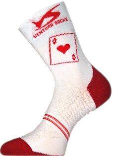 Chaussettes Ventura Socks Carbone AS de Coeur