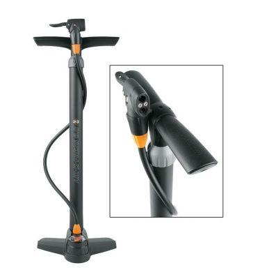 Pompe à pied SKS Air-X-Press 8.0 Multi Valve Noir