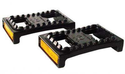 Plateformes Shimano SM-PD 22 pour pédales SPD Noir/Réflecteur