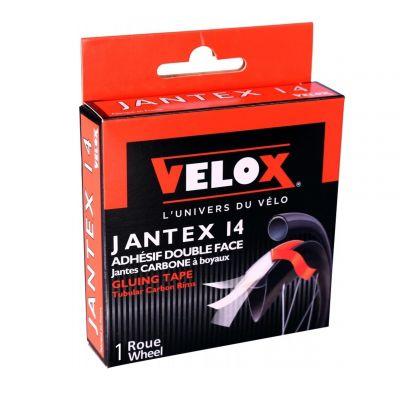 Rouleau VELOX Jantex 14 adhésif 21 mm pour boyau sur jante carbone