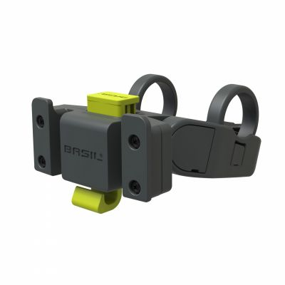 Fixation-attache panier sur cintre AV KLICKfix Holder pour VAE 22,2 à 31,8 mm