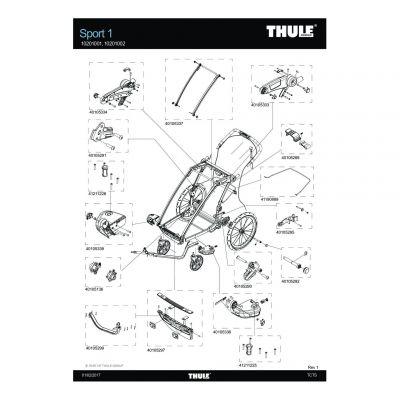 Axe de roue Thule Sport - 40105292