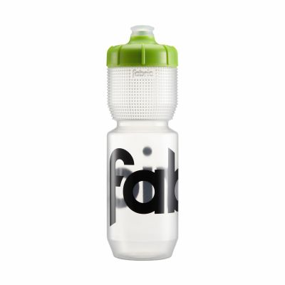 Bidon Fabric Gripper 750 ml Transparent/Vert
