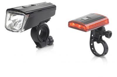 Set éclairage AV/AR XLC Comp Titania CL-S16 Noir / Rouge