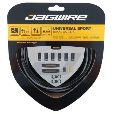 Kit câble et gaine de frein Jagwire Universal Sport - Réfléchissant UCK420