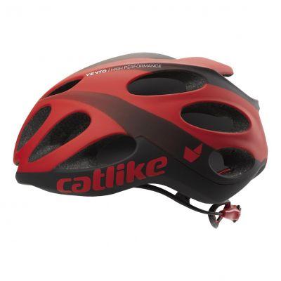 Casque Route Catlike Vento Rouge/Noir mat