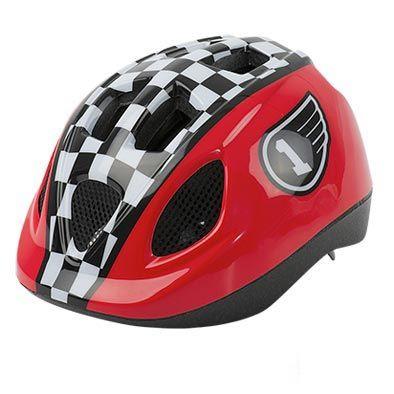 Casque Enfant Baby Headgy Race Rouge/Noir