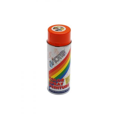 Bombe de peinture orange brillant RAL 2004 400 ml M01605