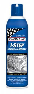 Lubrifiant Finish Line 1-Step Cleaner & Lubricant - Spray 500 ml