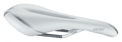 Selle BBB Razer anatomic 130 mm (blanc) - BSD-62