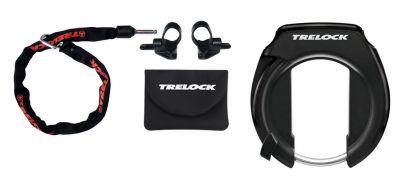 Antivol de cadre Trelock Combi RS 351 / ZR 355 Protect-O-Connect Noir