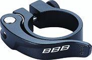 Collier de serrage rapide BBB SmoothLever 28.6 mm Noir - BSP-87