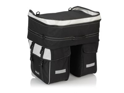 Sacoche-valise XLC Traveller BA-S68 58 L Noir / Anthracite