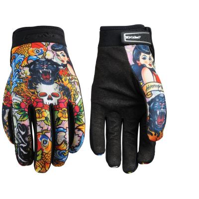 Gants Five Planet Fashion Tattoo Cougar