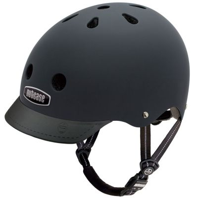 Casque Nutcase Supersolid Street Blackish