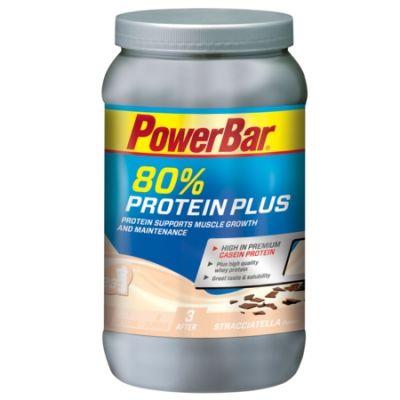 Boisson de récupération PowerBar ProteinPlus 80% Straciatella 700 gr