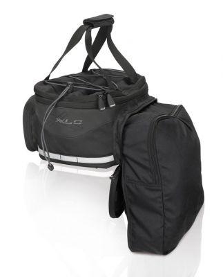Sacoche porte-bagages 16L Carry More XLC BA-S64 Noir / Anthracite