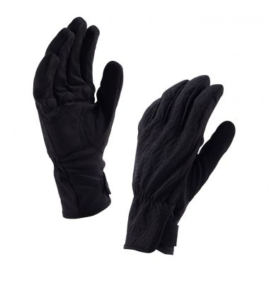 Gants imperméables femme SealSkinz All Weather Cycle Noir/Gris