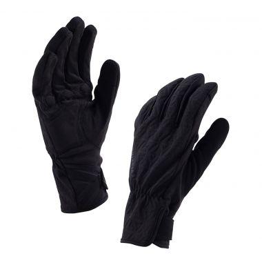 Gants imperméables femme SealSkinz All Weather Cycle Noir/Gris