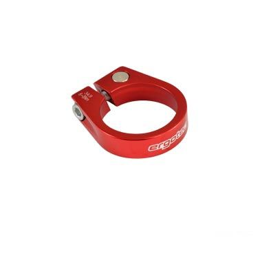 Collier de tige de selle 31,8 mm Alu 6061 Rouge