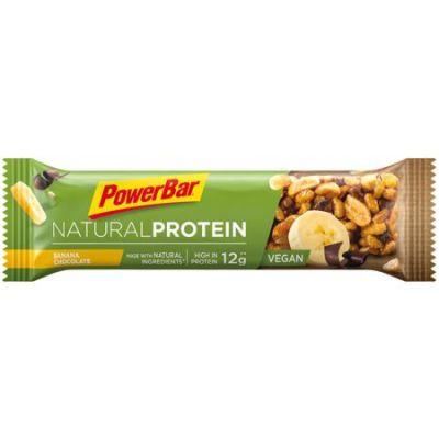 Barre protéinée PowerBar Natural Protein Vegan 40 g Banane/Chocolat