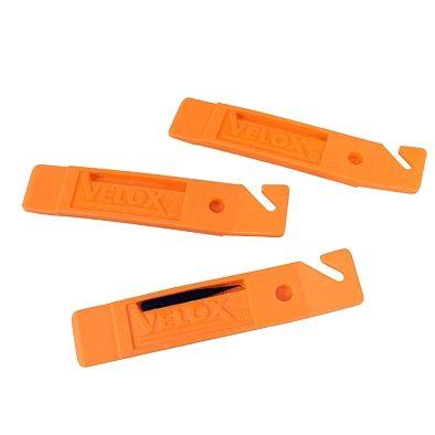 Démonte-pneu VELOX Plastique (Jeu de 3) Orange