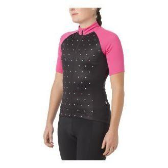 Maillot Giro Chrono Sport Femme Noir/Rose
