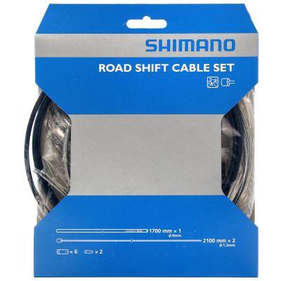 Kit câbles et gaine de dérailleurs Shimano Route SIS 40 Noir
