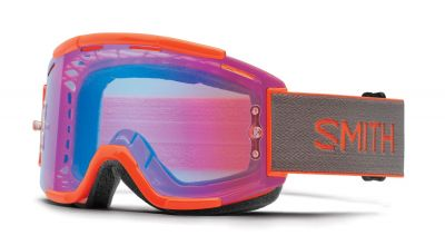 Masque Smith Optics Squad MTB Neon Orange ChromaPop Contrast Rose Flash
