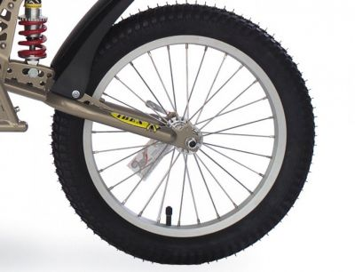 "Roue B.O.B. Ibex 16"" avec pneu et serrage rapide"