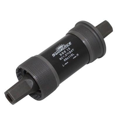 Boîtier de pédalier SunRace carré BSA 68 mm x 116 mm