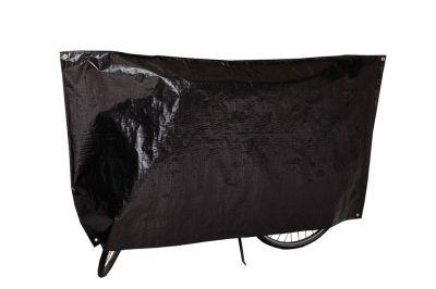 Housse vélo VK Noir avec œillets et cordon