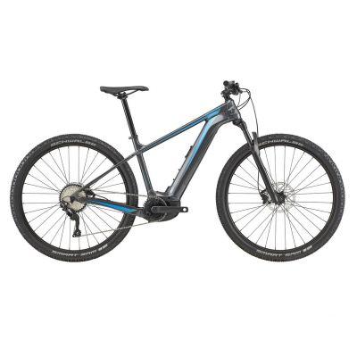 VTT électrique Cannondale Trail Neo 2 Gris Graphite 2020
