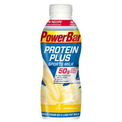 Boisson de récupération PowerBar ProteinPlus Sport Milk Banane 500 ml