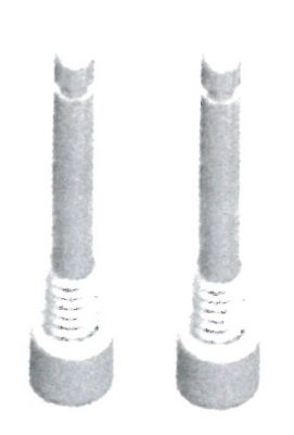 Boulon de sécurité XLC BP-X05 M4x22 mm comp. Avid Elixir, Guide, Code (Paire)
