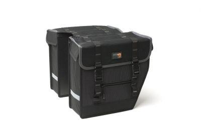 Sacoche New Looxs Superior Midi À pont sur porte-bagages 27 L Noir