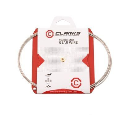 Câble de dérailleur Inox Clarks 3 m tandem (unité)