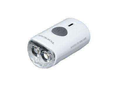 Éclairage avant vélo Topeak WhiteLite Mini USB 60 Lumens Blanc