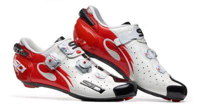 Chaussures Sidi WIRE Carbon '17 Blanc/Noir/Rouge