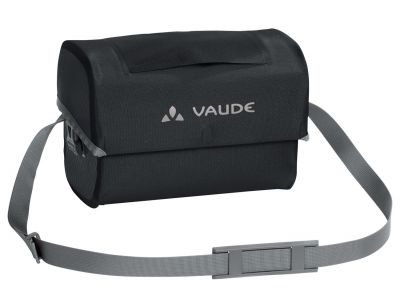 Sacoche étanche de guidon Vaude Aqua Box 6 L + Support KLICKfix Noir